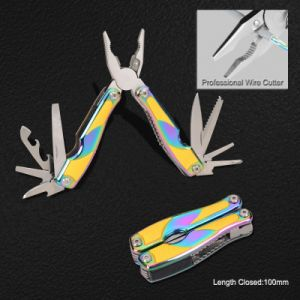 Multi Function Tools with Gradient Anodized Aluminum + Rubber Handle (#8333) pictures & photos