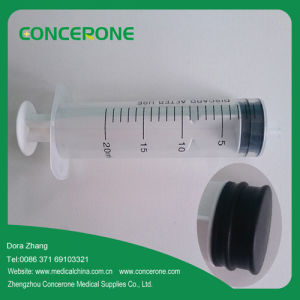 3 Parts Medical Disposable Plastic Syringe with Needle (20ml) pictures & photos