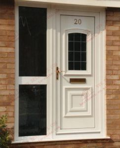 Professonal Supplier of UPVC Entrance Door (BHP-CD01) pictures & photos