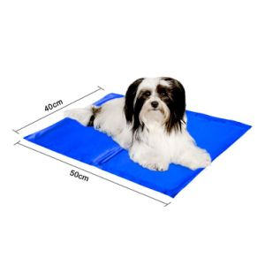 Cooling Mat, Cooling Pad, Comfort Cooling Gel Pet Mat Blue 16 X 12 Inch pictures & photos