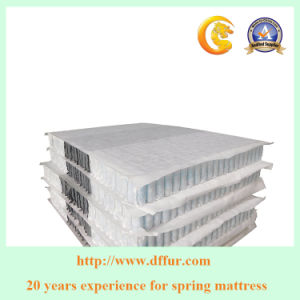 Top Quality Mattress Spring High Count 3 Layer Pocket Spring for Mattress pictures & photos