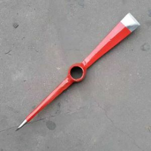 Red Color Painted Steel Pickaxe pictures & photos