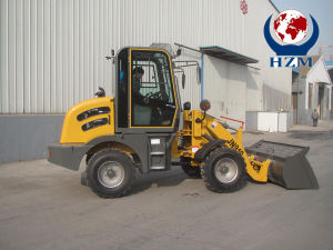 New Design Mini Radlader Zl10 Small Wheel Loader Hzm 910 pictures & photos