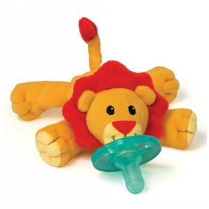 Stuffed Lion Pacifiers Baby Toys with Silicone Binky Teething Soother pictures & photos
