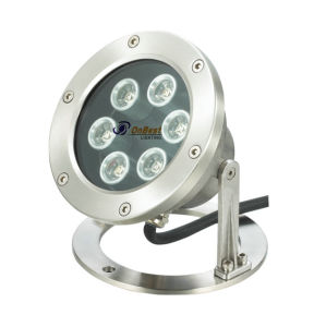DC24V LED Underwater Light 6W LED Light in IP68 for Pools pictures & photos