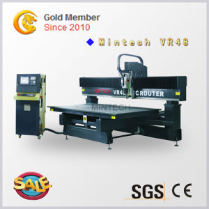 Wood CNC Router Cutting and Engraving Machine with Vacuum Table pictures & photos