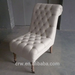 Rch-4269 New Design Button Chair Front Foot with Castor pictures & photos