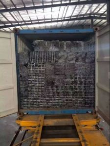 Building Materials Round Steel Tubes/Hot-DIP Galvanized Steel Pipe pictures & photos