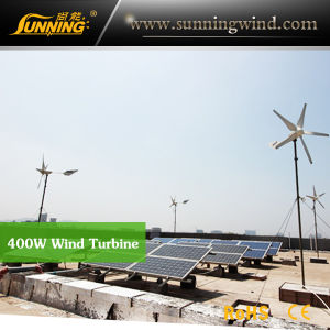 Support CE 400W Micro Wind Turbine Home Use pictures & photos
