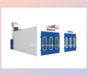 Downdraft Booth Auto Maintenance Paint Booth for Sale pictures & photos