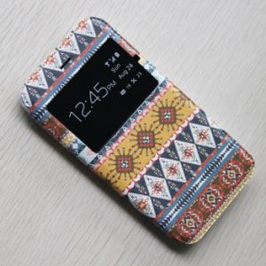 Modern Style Flip Leather Case for iPhone6/6 Plus Neat Cover