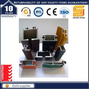 Aluminum/Aluminium Extrusion Profiles for Buidling Material Used pictures & photos