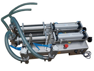 Manual Single or Two Head Filling Machine for Jam Cream pictures & photos