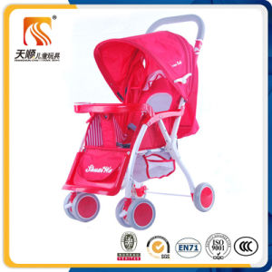 Red Color Cheap Baby Doll Pram Buggy for Sale pictures & photos