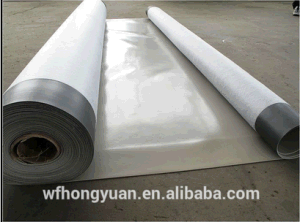 Basement PVC Waterproof Membrane with Fabric Backing pictures & photos