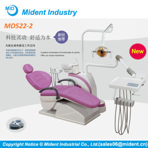 CE Top-Mounted Dental Chair Unit with Sensor Light pictures & photos