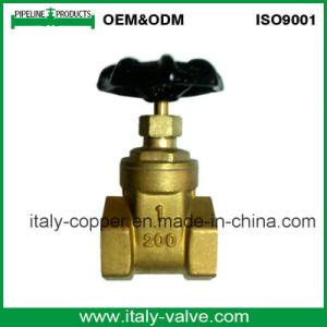 CE Approved Brass Non-Rising Stem Gate Valve (AV4062) pictures & photos