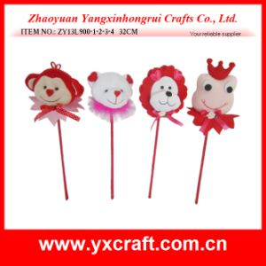 Valentine Decoration (ZY13L919-1-2-3) Wedding Love Decoration Valentine Flower pictures & photos