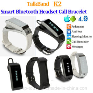 Popular Smart Bluetooth Bracelet with Headset (K2) pictures & photos
