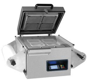 Dmp-400da Desktop Type Semi Automatic Tray Sealing Machine pictures & photos