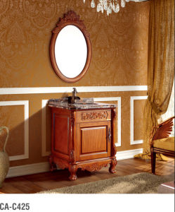 Classical Bathroom Cabinet Series with Round Mirror pictures & photos