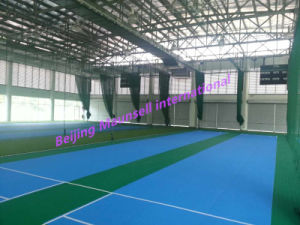 Maunsell International High Quality PVC Flooring for Cricket Court Indoor /Outdoor pictures & photos