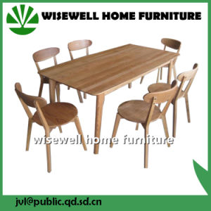 Oak Wood Furniture Set Square Dining Table pictures & photos