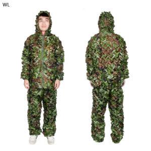 Camouflage Clothes Ghillie Suit Combat Uniforms Hidden Tactical Training Clothes Cl34-0071 pictures & photos