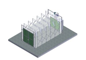 Best Design Btd Retractable Spray Booth pictures & photos