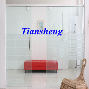 Stacking Sliding Glass Doors Folding Partition Wall Frameless Sliding Folding Glass Door Double Pane Sliding Glass Door As2208 pictures & photos