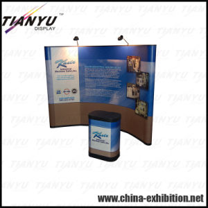 Customized Export Magnetic Pop up Stand pictures & photos