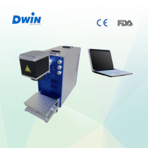 Mini Metal Laser Marking Machine for Rings and Jewelry pictures & photos