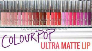 2016 Hot Sale Lipsticks Colourpop Liquid Matte Lipgloss 12 Colors Lip Gloss pictures & photos