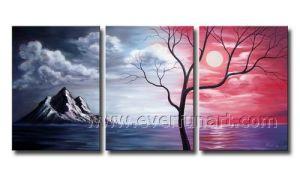 Oil on Canvas Canvas Home Decor Hand-Painted Landscape Painting (LA3-143) pictures & photos