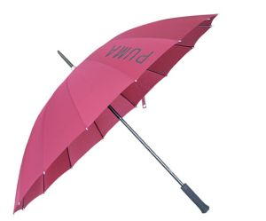 Red 24′′x16k Straight Umbrella (BR-ST-121) pictures & photos