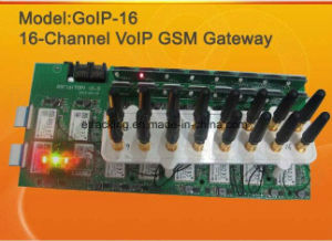 GSM VoIP Gateway GoIP16 / SIP / VoIP GSM Gateway GoIP-16 16channels Made in China pictures & photos