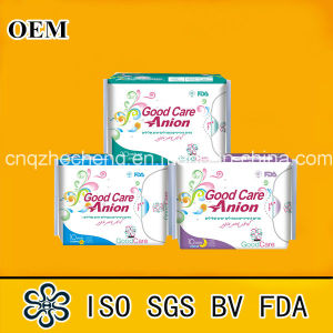 Factory Brand Anion Sanitary Pad pictures & photos