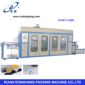 Plastic Fast-Food Box Packing Tray Vacuum Forming Machine pictures & photos