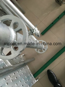 American Standard 48.3*3.25*1500mm Ringlock Scaffolding Vertical for Sale pictures & photos