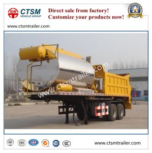 Asphalt Distribution Semi Trailer Bitumen Tanker Truck Trailer