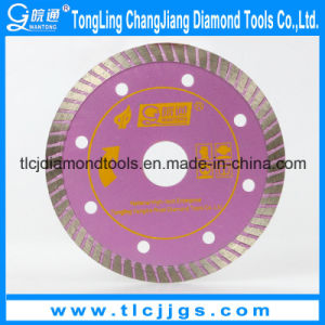 Sintered Diamond Turbo Saw Blade for Asphalt Cutting pictures & photos