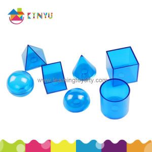 Plastic Relational Geosolids/Geometry Shapes Toy (K027) pictures & photos