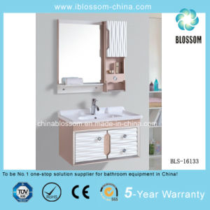 Europe PVC Bathroom Cabinet, Vanity, Furniture (BLS-16133) pictures & photos