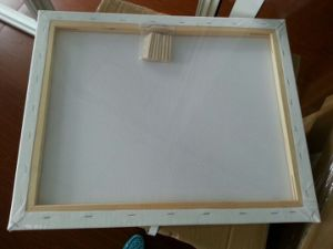 "Professional50*60"" 1.6*3.7cm Thickness 280canvas Pinewood Stretched Canvas (back stapled) pictures & photos"