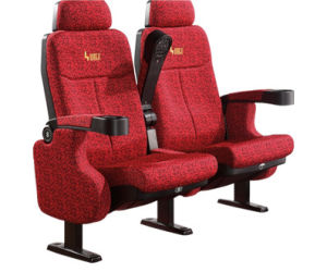 Hongji Rocking Back / Push Back with Slow Return Function Movie Theater Seating pictures & photos