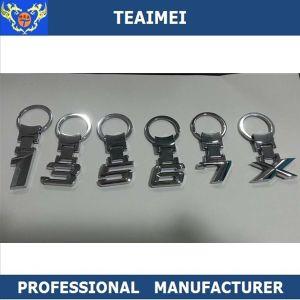 Custom Car Logo Best Chrome Metal Keychain pictures & photos