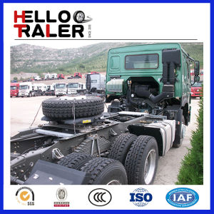 HOWO 6X4 40t Trailer Head 371HP Tractor Truck pictures & photos
