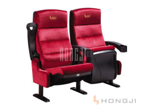 Luxury Cinema Chairs, 3D Theater Cinema Seating, Fabric VIP Chair (HJ9910A) pictures & photos