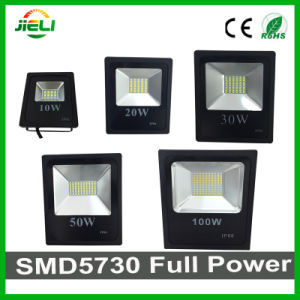 10W/20W/30W/50W/100W/150W/200W SMD5730 Slim Black Outdoor LED Flood Light pictures & photos