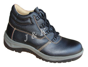 Safety Shoes Made of Leather (JK46003) pictures & photos